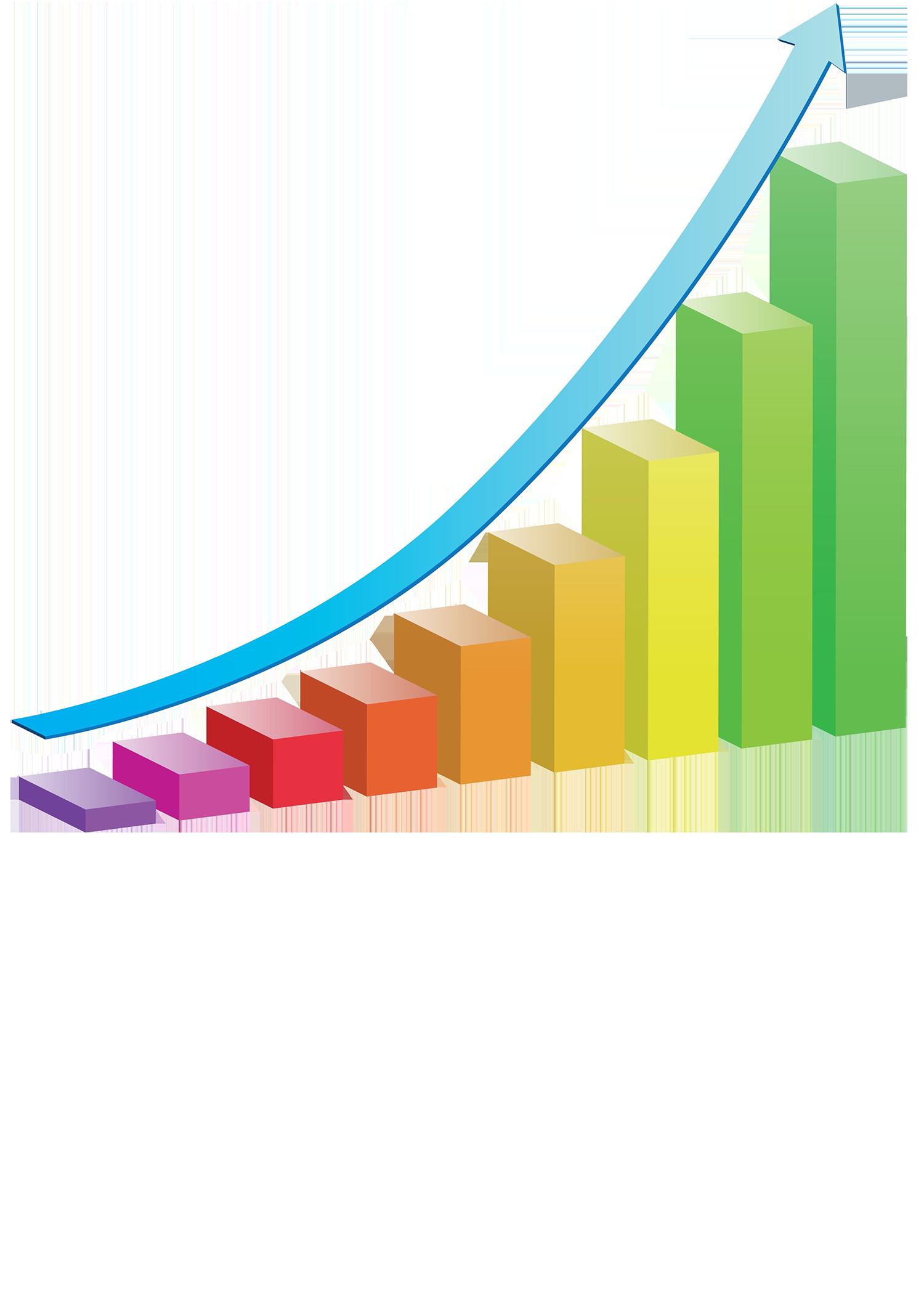 Growth Colourful Bar Chart - 9037272_3-1